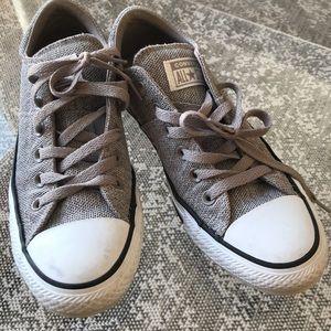 Converse gray allstars!